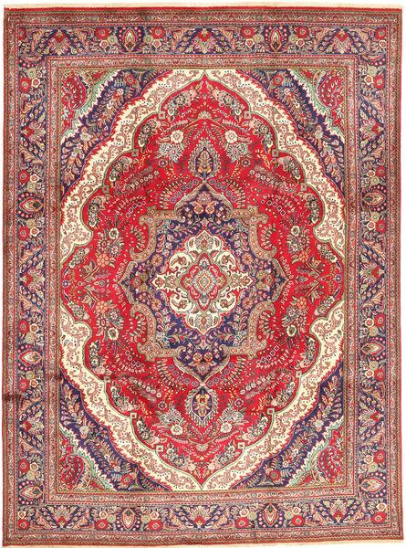 Tabriz Matto 256X346 Itämainen Käsinsolmittu Ruoste/Vaaleanruskea Isot (Villa, Persia/Iran)