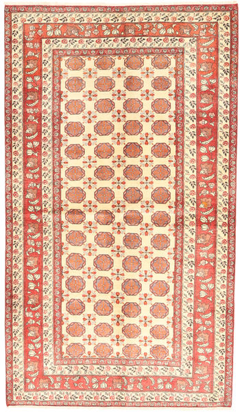 Turkaman Rug 130X226 Authentic  Oriental Handknotted Beige/Dark Beige (Wool, Persia/Iran)