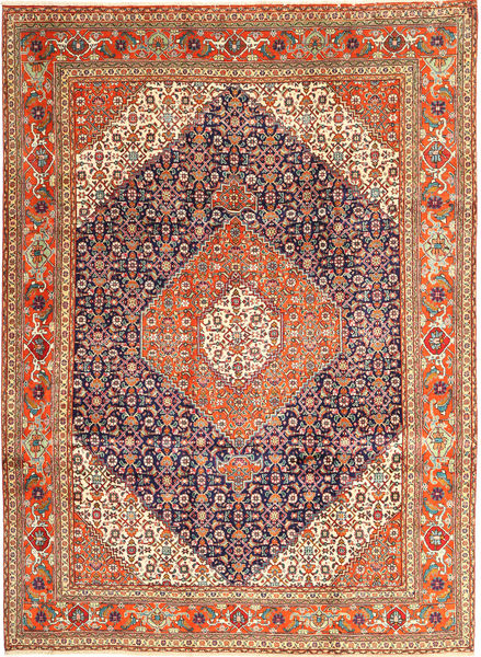 Tabriz Rug 258X345 Authentic  Oriental Handknotted Dark Red/Dark Brown Large (Wool, Persia/Iran)