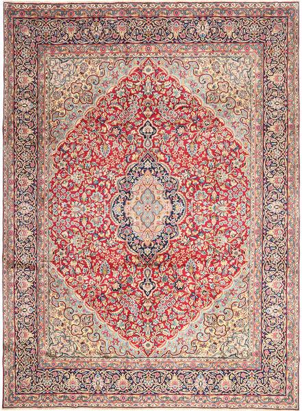 Kerman Matto 276X368 Itämainen Käsinsolmittu Pinkki/Vaaleanpunainen Isot (Villa, Persia/Iran)