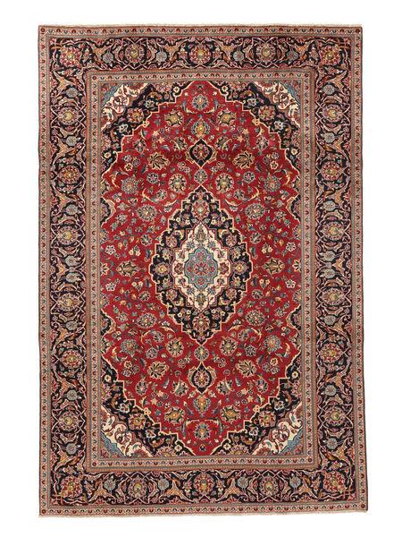 Keshan Matto 195X292 Itämainen Käsinsolmittu Vaaleanruskea/Ruskea (Villa, Persia/Iran)
