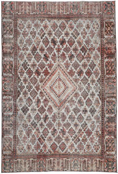 Meimeh Patina Dywan 208X302 Orientalny Tkany Ręcznie Jasnoszary/Ciemnobrązowy (Wełna, Persja/Iran)
