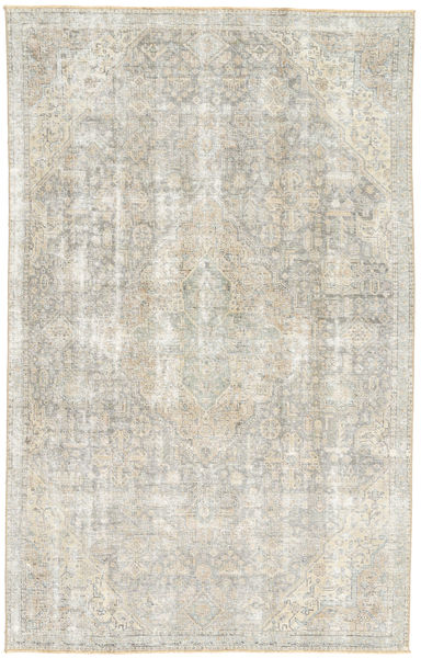 Colored Vintage Rug 180X288 Authentic  Modern Handknotted Light Grey/Dark Beige (Wool, Persia/Iran)