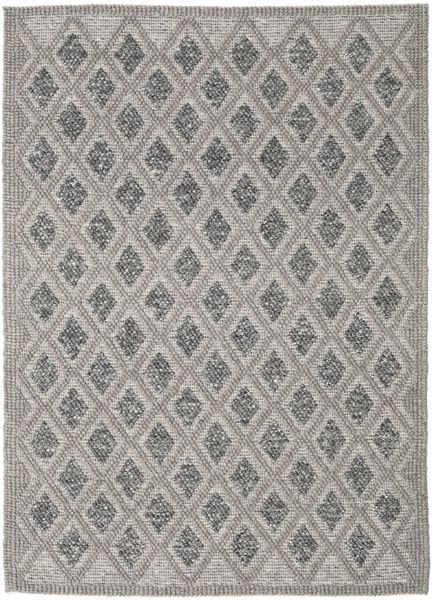 Kilim M.w.s Rug 160X230 Authentic  Modern Handwoven Light Grey/Dark Grey (Wool, India)