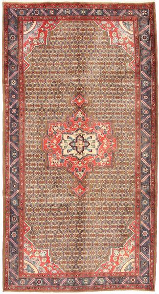Koliai Rug 160X300 Authentic  Oriental Handknotted Hallway Runner  Dark Red/Brown (Wool, Persia/Iran)
