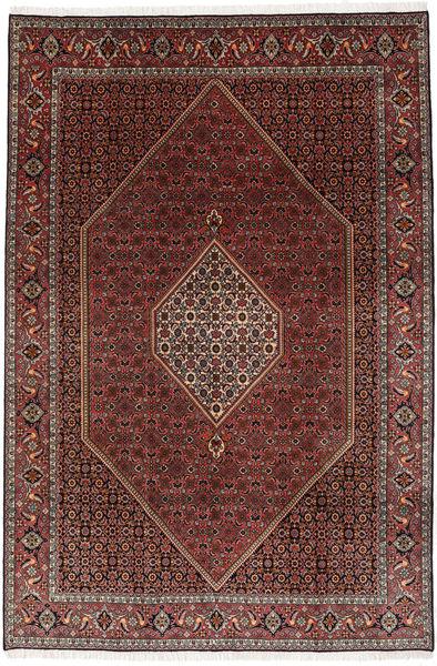 Bidjar Alfombra 202X298 Oriental Hecha A Mano Rojo Oscuro/Marrón Oscuro (Lana, Persia/Irán)
