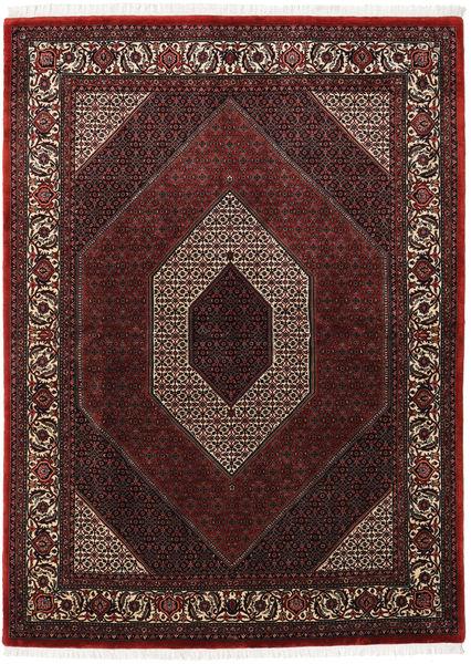 Bidjar Takab/Bukan Teppe 172X235 Ekte Orientalsk Håndknyttet Mørk Rød/Brun (Ull, Persia/Iran)