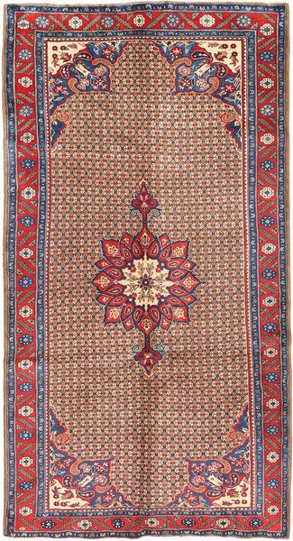 Koliai Rug 160X300 Authentic  Oriental Handknotted Hallway Runner  Dark Red/Dark Grey (Wool, Persia/Iran)
