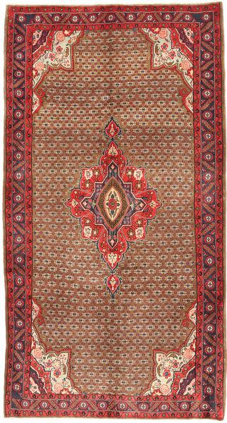 Koliai Matto 158X295 Itämainen Käsinsolmittu Ruskea/Tummanpunainen (Villa, Persia/Iran)