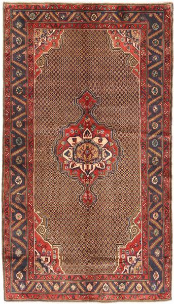 Koliai Matto 150X266 Itämainen Käsinsolmittu Tummansininen/Ruskea (Villa, Persia/Iran)
