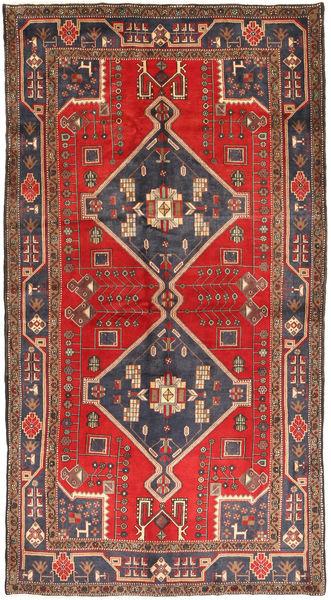 Koliai Matto 149X276 Itämainen Käsinsolmittu Vaaleanruskea/Tummansininen (Villa, Persia/Iran)