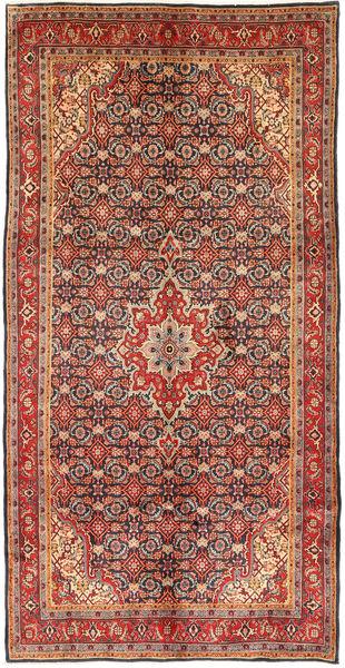 Koliai Teppe 152X306 Ekte Orientalsk Håndknyttet Mørk Rød/Lysbrun (Ull, Persia/Iran)