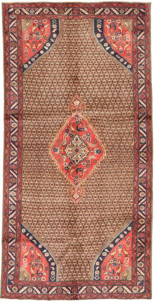 Koliai Matto 148X291 Itämainen Käsinsolmittu Ruskea/Vaaleanruskea (Villa, Persia/Iran)