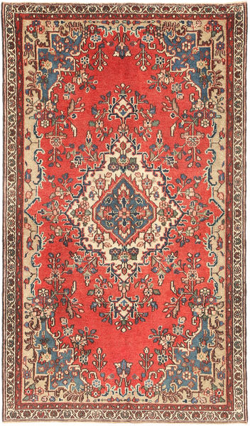Hamadan Patina Rug 140X248 Authentic  Oriental Handknotted Dark Red/Brown (Wool, Persia/Iran)