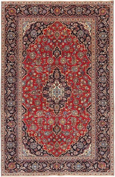 Keshan Patina Matto 193X298 Itämainen Käsinsolmittu Tummanpunainen/Ruskea (Villa, Persia/Iran)