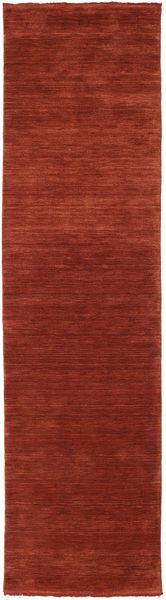 Handloom fringes - Deep Rust carpet CVD19114