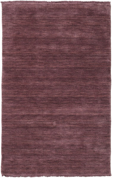 Handloom fringes - Deep Wine rug CVD19141