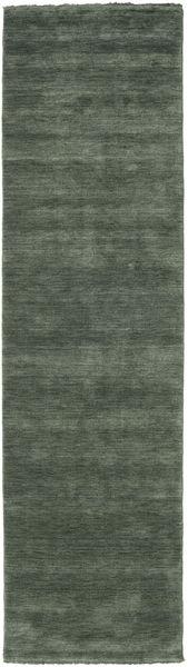Handloom fringes - Skogsgrønn teppe CVD19144