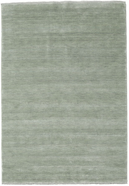 Handloom Fringes - Soft Teal Teppe 160X230 Moderne Lys Grå (Ull, India)