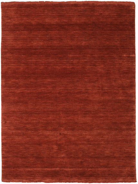 Handloom fringes - Deep Rust teppe CVD19110