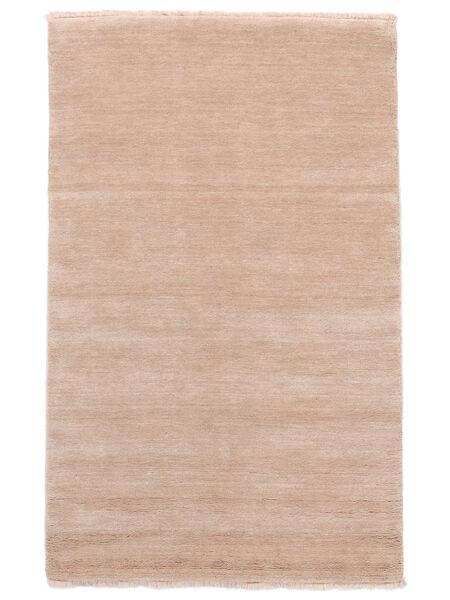 Handloom Fringes - Soft Rose Rug 140X200 Modern Light Pink (Wool, India)