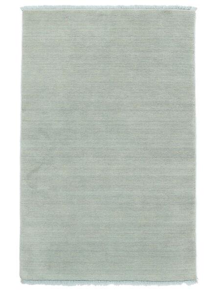 Handloom Fringes - Isblå Matta 160X230 Modern Ljusblå (Ull, Indien)