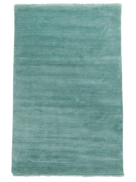 Handloom fringes - Aqua teppe CVD19161