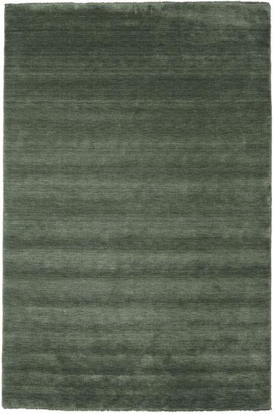 Handloom fringes - Metsänvihreä-matto CVD19290