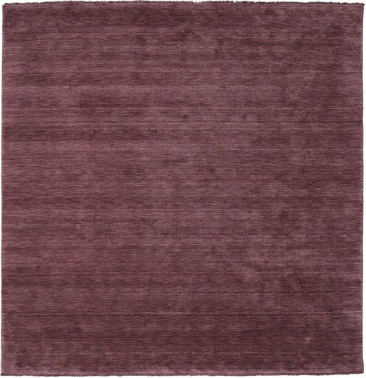 Alfombra Handloom fringes - Rojo Burdeos CVD19138