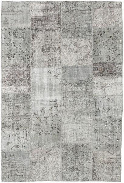 パッチワーク 絨毯 157X233 モダン 手織り 薄い灰色 (ウール, トルコ)
