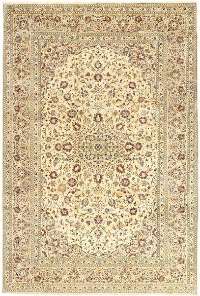 Keshan Matto 245X358 Itämainen Käsinsolmittu Beige/Vaaleanruskea (Villa, Persia/Iran)