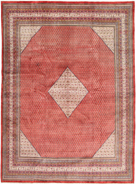 Sarough Mir Matto 300X400 Itämainen Käsinsolmittu Vaaleanruskea/Ruskea Isot (Villa, Persia/Iran)