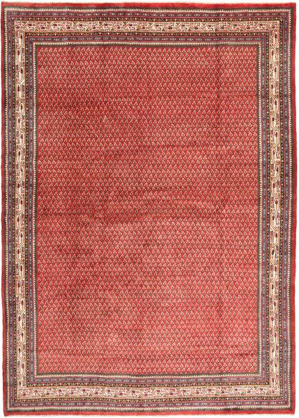Sarough Mir Alfombra 263X373 Oriental Hecha A Mano Rojo Oscuro/Beige Oscuro Grande (Lana, Persia/Irán)