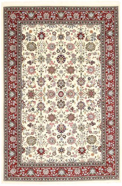Kerman Sherkat Farsh Rug 190X284 Authentic  Oriental Handknotted Beige/Light Brown (Wool, Persia/Iran)
