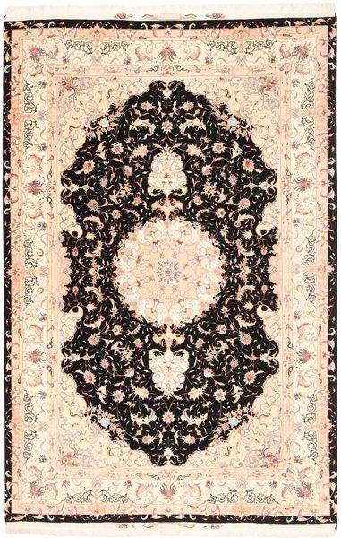 Tabriz#60 Raj silkerenning teppe MIK15