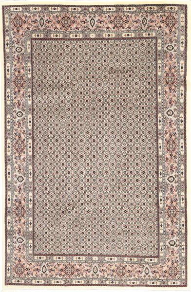 Moud Sherkat Farsh Rug 193X291 Authentic  Oriental Handknotted Light Brown/Dark Brown (Wool, Persia/Iran)