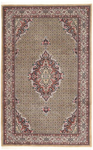 Bidjar Matto 208X318 Itämainen Käsinsolmittu Vaaleanruskea/Vaaleanharmaa (Villa, Persia/Iran)