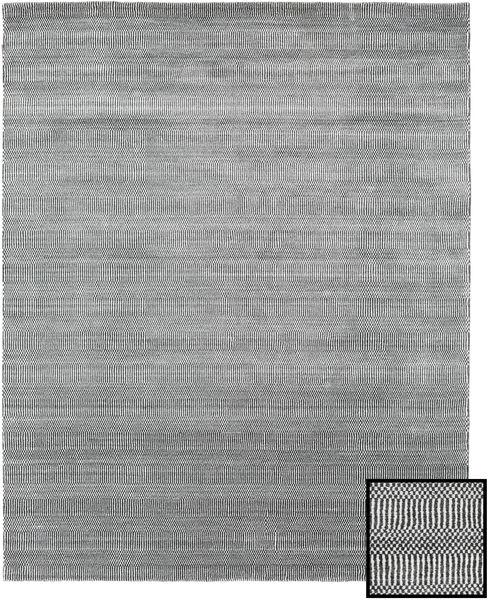 Bambu Grass - Black_ Grå Matta 190X240 Modern Ljusgrå/Mörkgrå (Ull/Bambusilke, Turkiet)