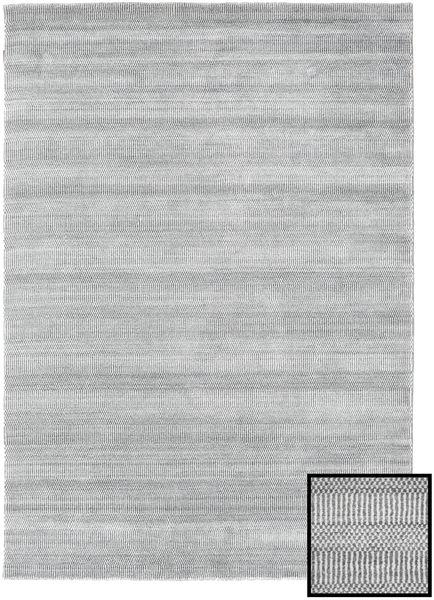 Bamboo Grass - Szary Dywan 160X230 Nowoczesny Jasnoszary/Biały/Creme (Wełna/Jedwab Bambusowy, Turcja)