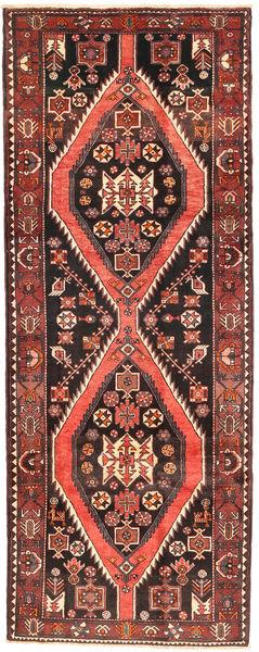 Saveh Matto 127X330 Itämainen Käsinsolmittu Käytävämatto Tummanruskea/Ruskea (Villa, Persia/Iran)