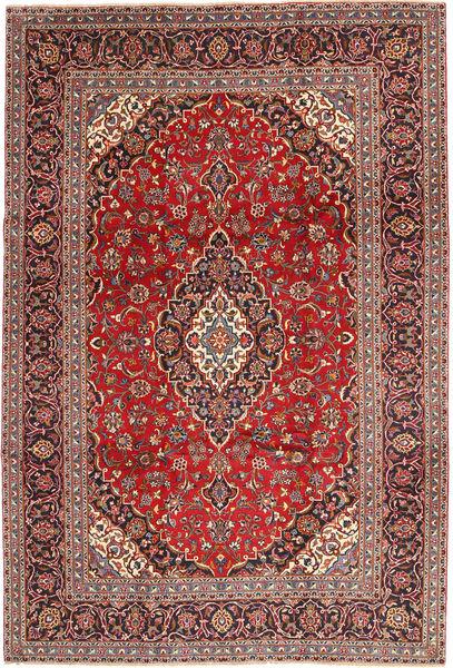Keshan Matto 242X348 Itämainen Käsinsolmittu Tummanpunainen/Tummanruskea (Villa, Persia/Iran)