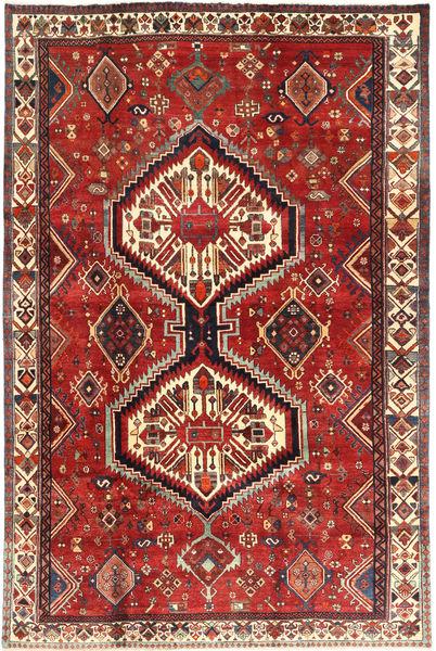 Ghashghai Teppe 204X304 Ekte Orientalsk Håndknyttet Brun/Rust (Ull, Persia/Iran)