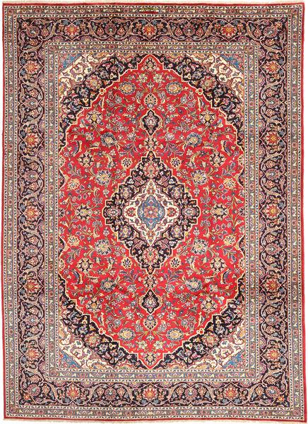 Keshan Matto 250X340 Itämainen Käsinsolmittu Violetti/Vaaleanruskea Isot (Villa, Persia/Iran)