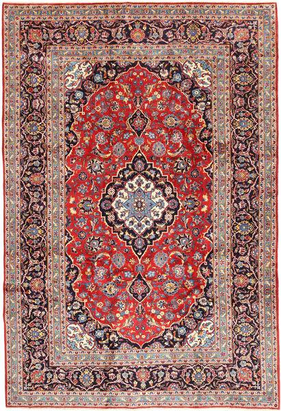Keshan Matta 250X360 Äkta Orientalisk Handknuten Mörkröd/Roströd Stor (Ull, Persien/Iran)