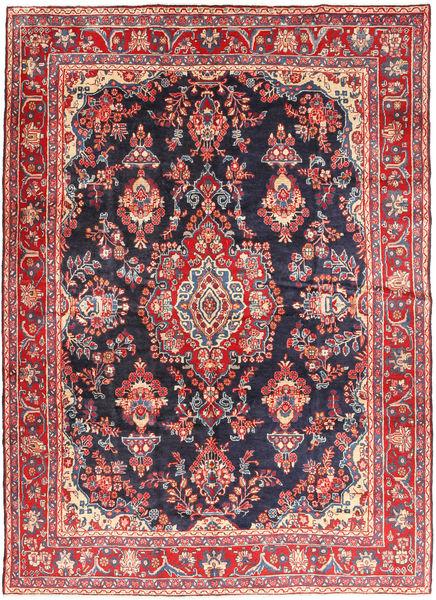 Hamadan Shahrbaf Matto 215X292 Itämainen Käsinsolmittu Tummanharmaa/Ruskea (Villa, Persia/Iran)