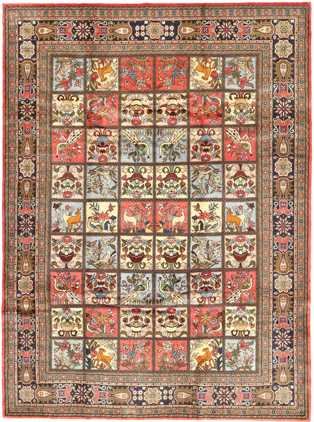 Koliai Rug 208X280 Authentic  Oriental Handknotted Light Brown/Brown (Wool, Persia/Iran)