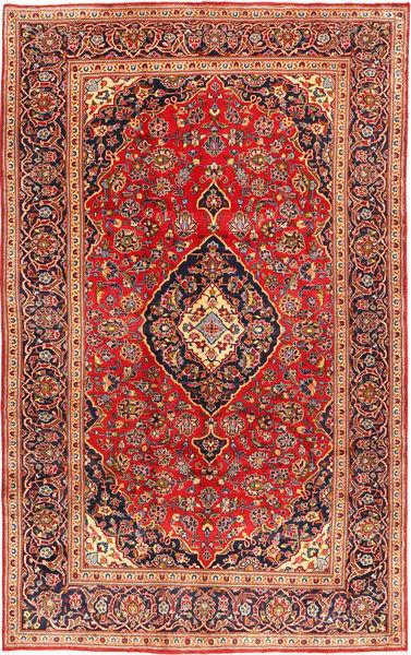 Keshan Matto 199X317 Itämainen Käsinsolmittu Ruoste/Ruskea (Villa, Persia/Iran)
