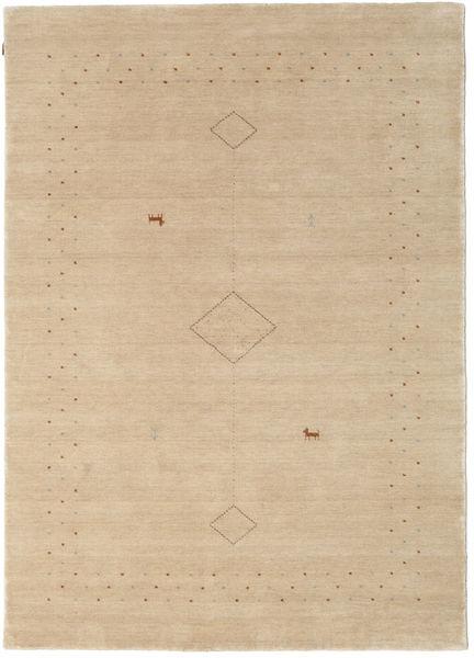 Loribaf Loom Alfa - Beige Matto 160X230 Moderni Vaaleanruskea/Tummanbeige (Villa, Intia)