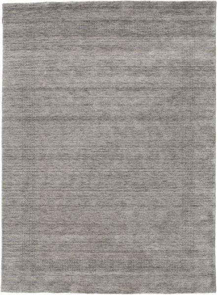 ハンドルーム Gabba - グレー 絨毯 210X290 モダン 薄い灰色/濃いグレー (ウール, インド)