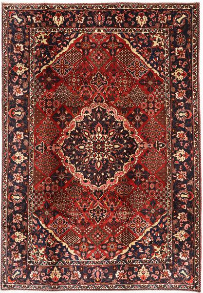 Bakhtiar Matto 208X300 Itämainen Käsinsolmittu Tummanpunainen/Musta (Villa, Persia/Iran)